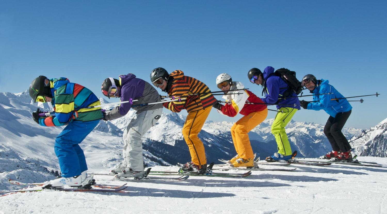 wypoczynek na nartach
