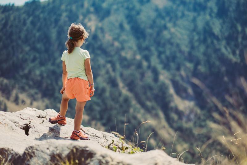 Pierwszy wyjazd z dzieckiem w góry