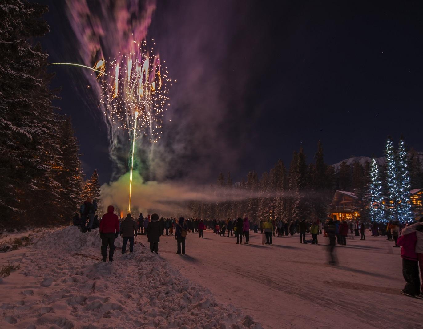 nowy rok w gorach